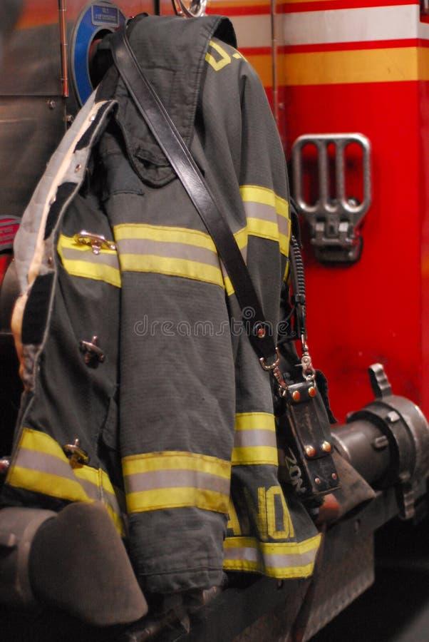 Couche de sapeur-pompier photos libres de droits