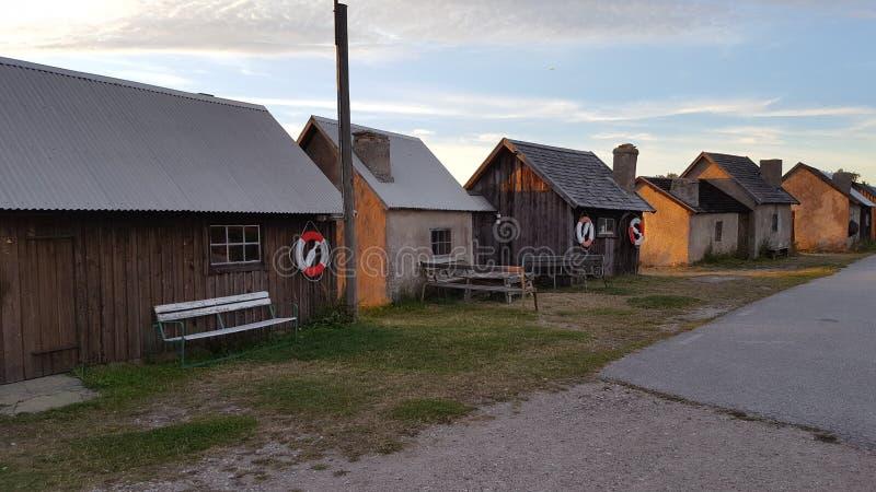 Coucher du soleil åt Gotland photos libres de droits