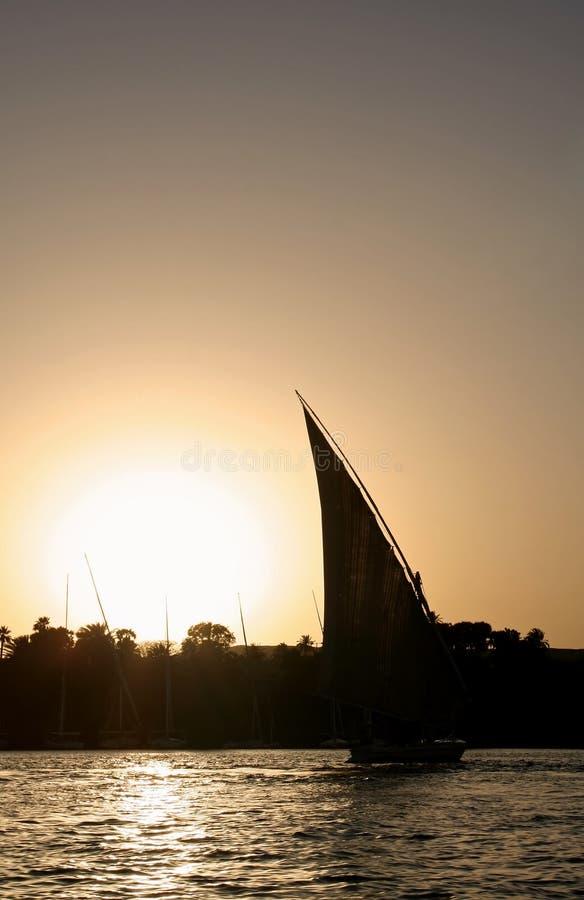 Download Coucher du soleil photo stock. Image du fleuve, horizontal - 725634