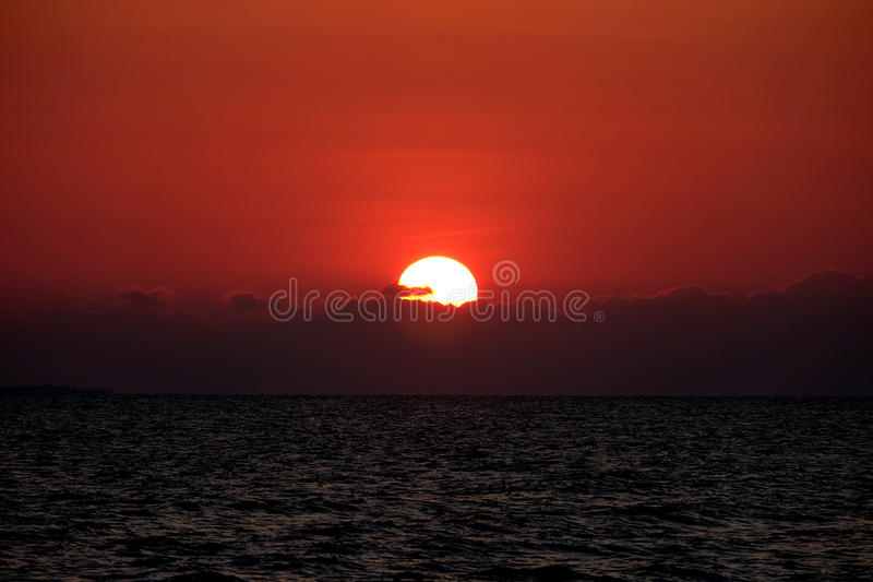 Coucher du soleil images stock