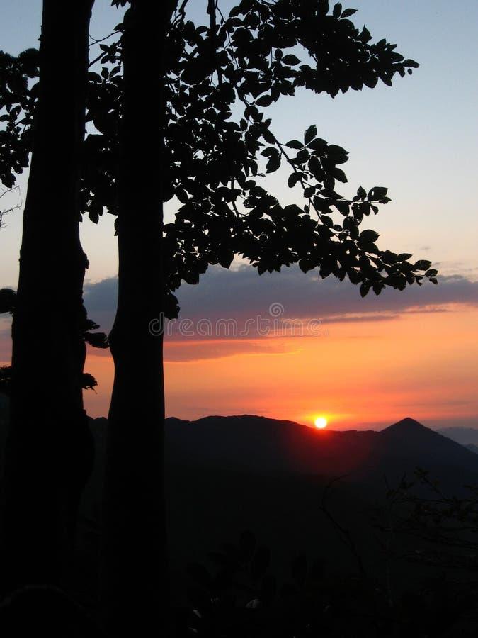 Coucher du soleil, aube, aube, lever de soleil, coucher du soleil, crépuscule, crépuscule, aube photo libre de droits