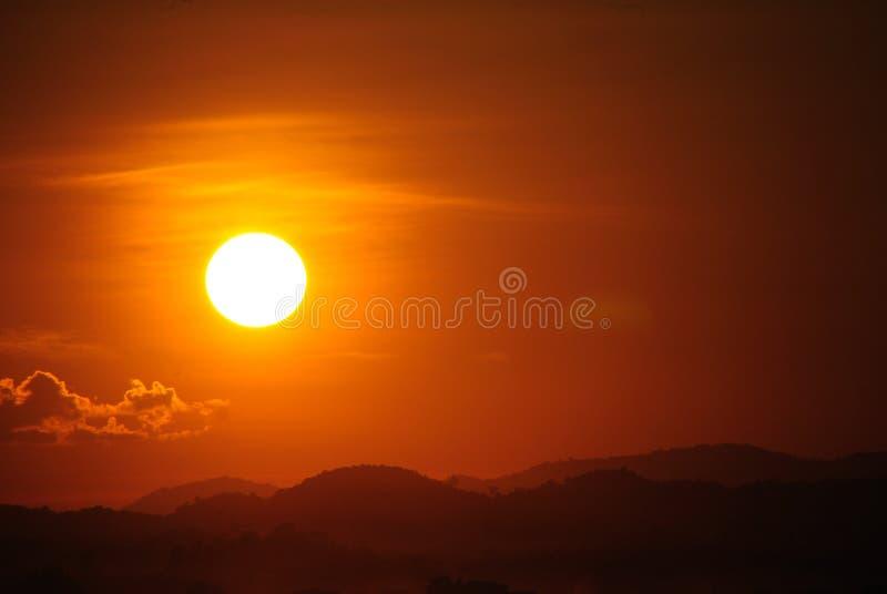 Download Coucher Du Soleil Chiang Khan Thailand Image stock - Image du crépuscule, lumière: 45370885