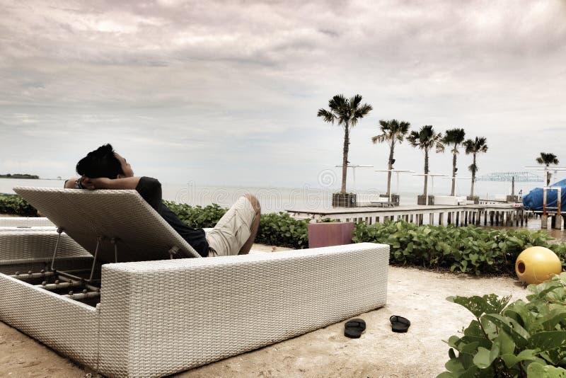 Coucher du soleil de attente photo libre de droits