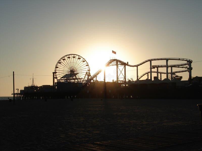 Coucher du soleil de Cali photographie stock libre de droits