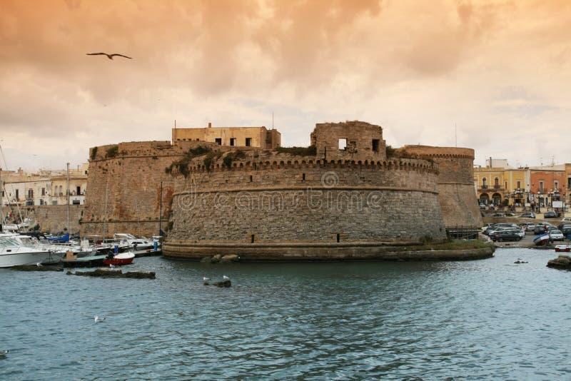 Coucher du soleil de Gallipoli photos stock