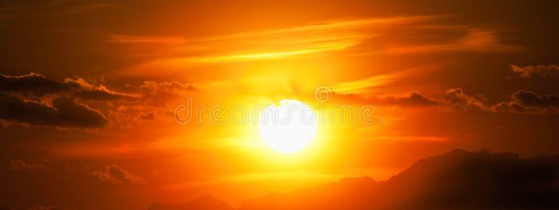 Coucher du soleil de Kosovo Prizren photographie stock