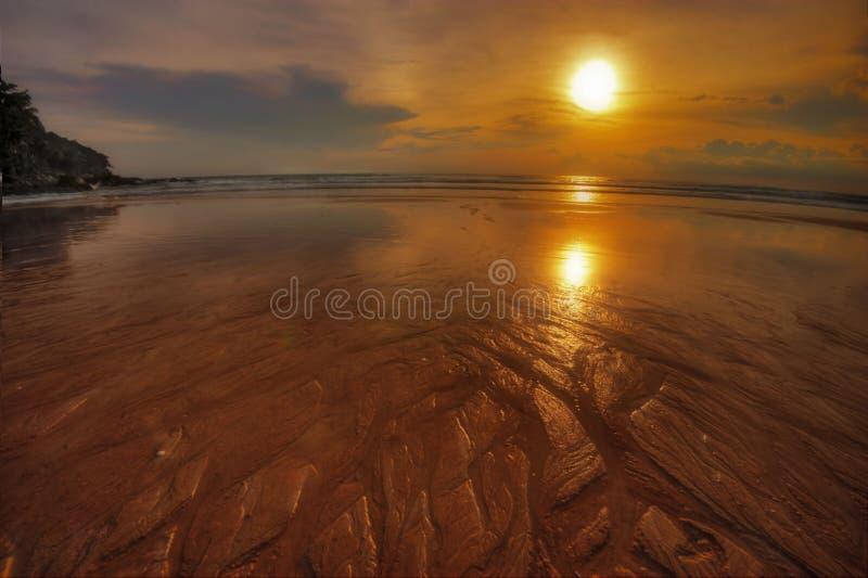 Coucher du soleil de Phuket-2 photo stock
