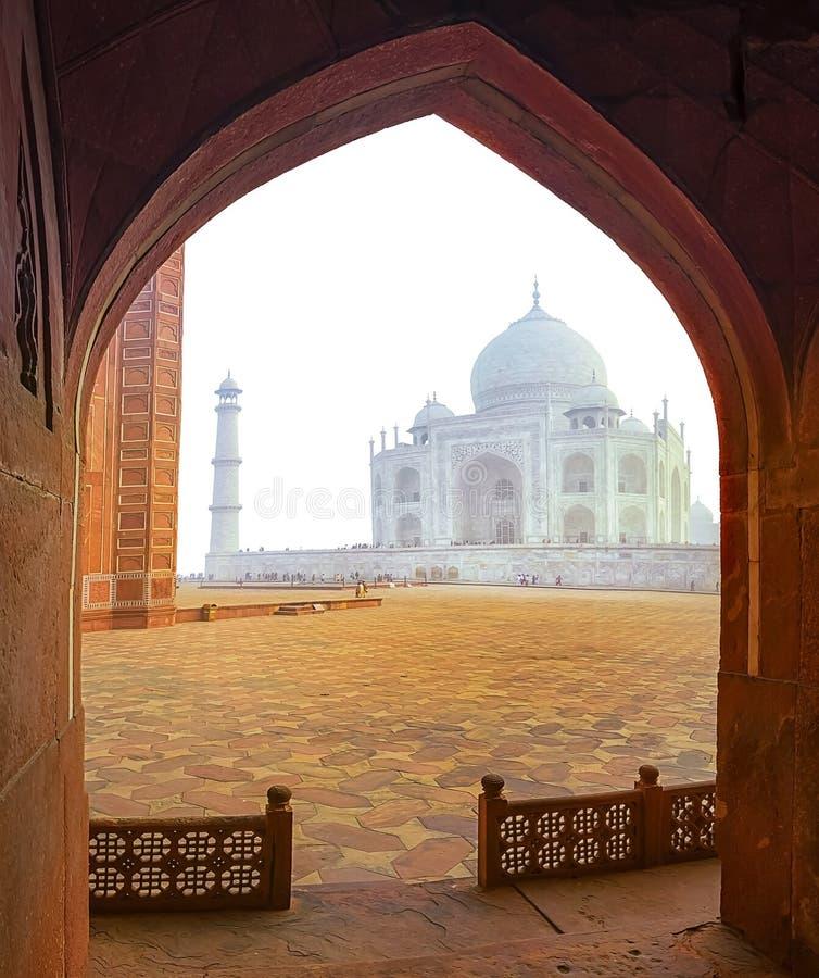 Le Taj Mahal, Inde photos libres de droits