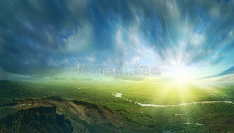 Coucher du soleil II photos libres de droits