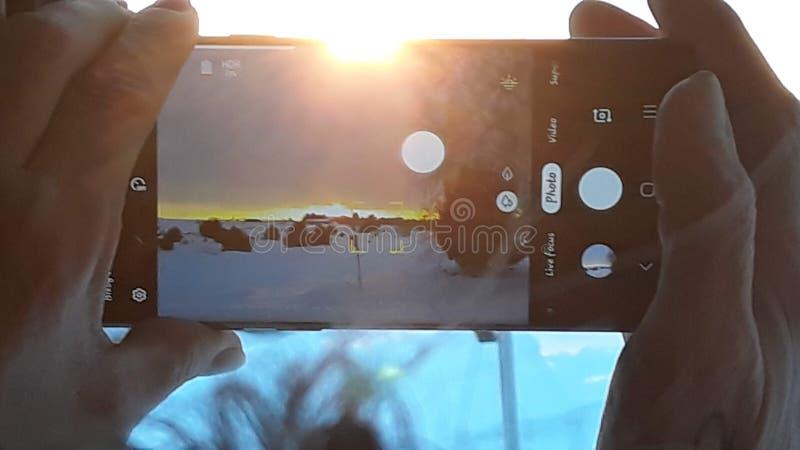 Coucher du soleil Ray photographie stock libre de droits