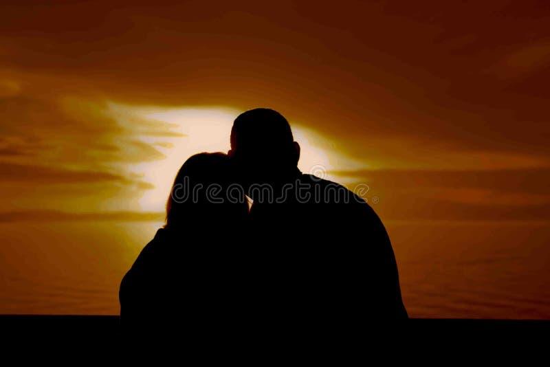 Coucher du soleil Romance images stock