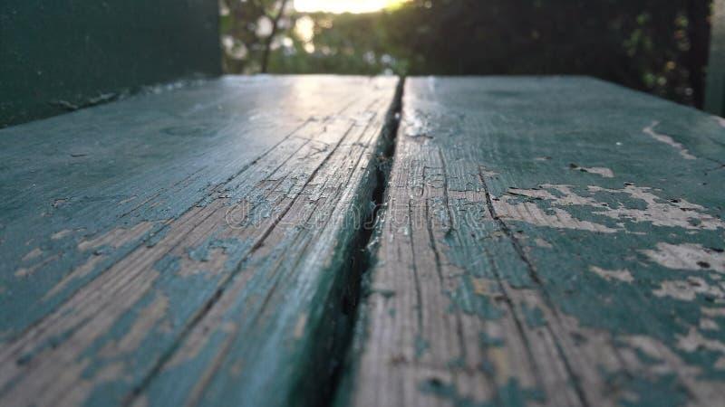 Coucher du soleil sur une étape de porche images libres de droits