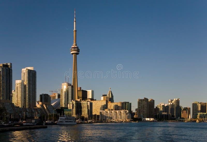 Download Coucher du soleil Toronto image stock. Image du affaires - 8667563
