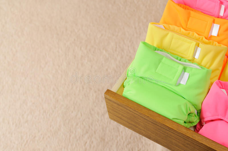 Couches-culottes de tissu photos libres de droits
