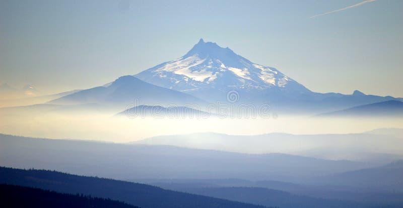 Couches de montagne image stock