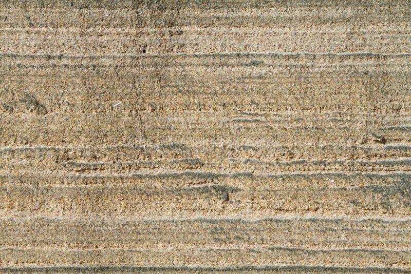Couches de sable photo stock