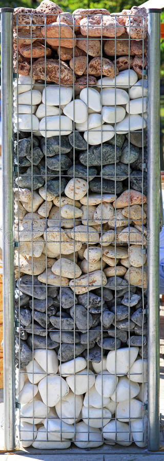 Couches en pierre images stock