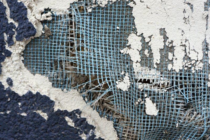 Couches endommagées de mur photos stock