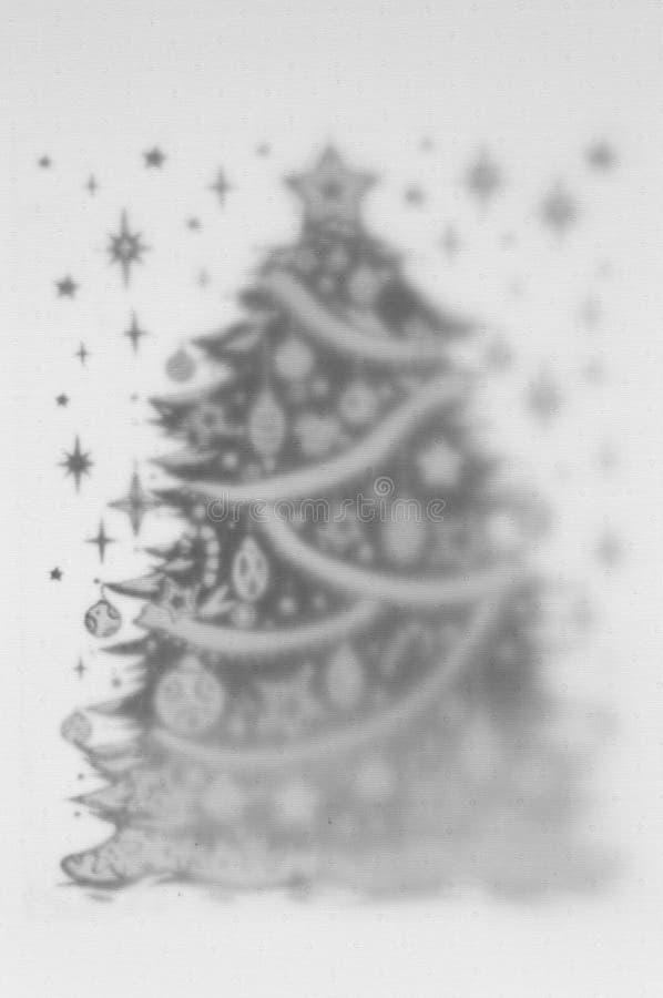 2 couches noires et blanches de fond avec des WI de motif de bonne année photo stock