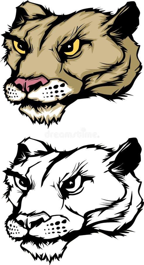 Download Cougar / Panther Mascot Logo Stock Vector - Illustration of pumas, sport: 11459170