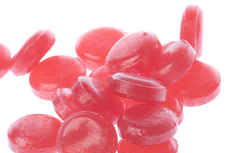 Cough Drops Isolated stock photography