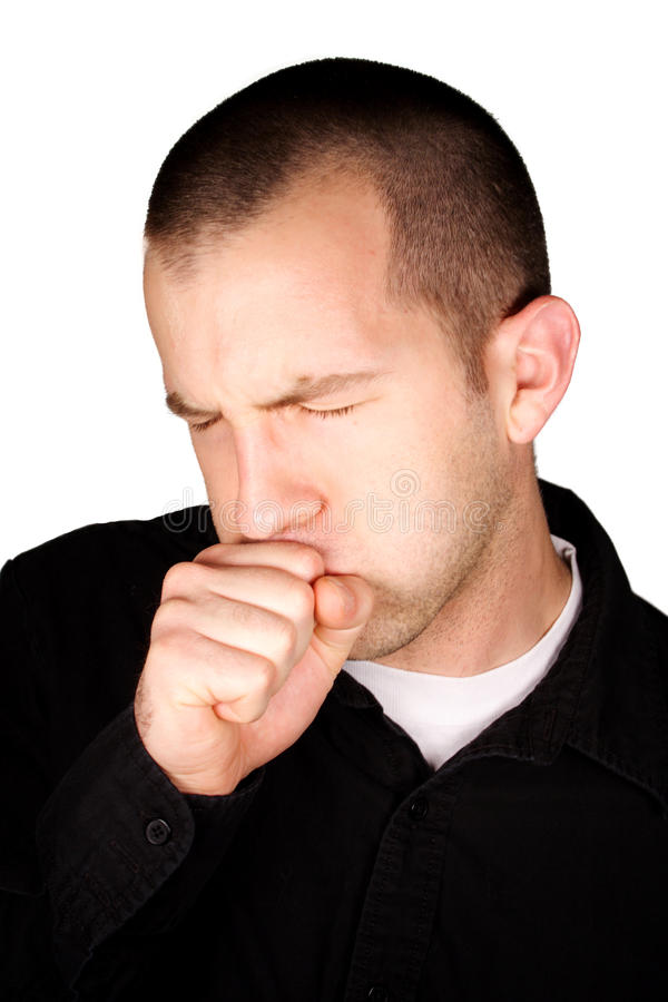 Free Coughing Royalty Free Stock Photos - 12207698