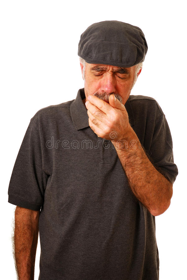 Coughing Stock Photos