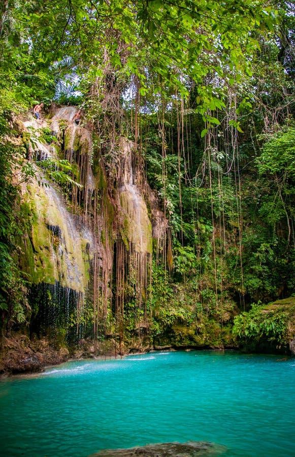 Hidden paradsie in The Philippines stock photos