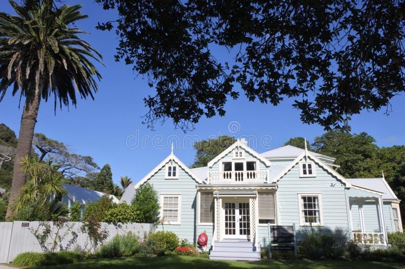 Couldrey Domowy Historyczny budynek Auckland Nowa Zelandia zdjęcie stock