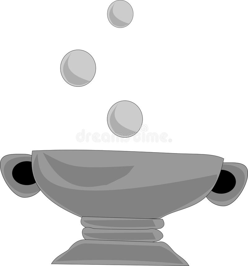 Witches Couldron stock image