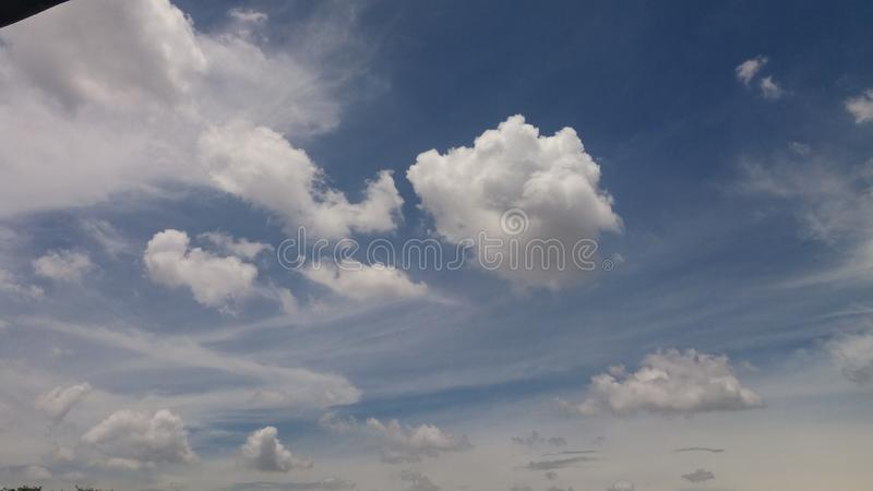 Coulds and sky. Coulds sky blue beautiful nature royalty free stock photography