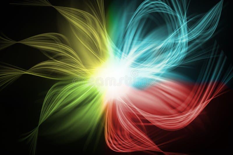 couleur abstraite de fond différente illustration stock