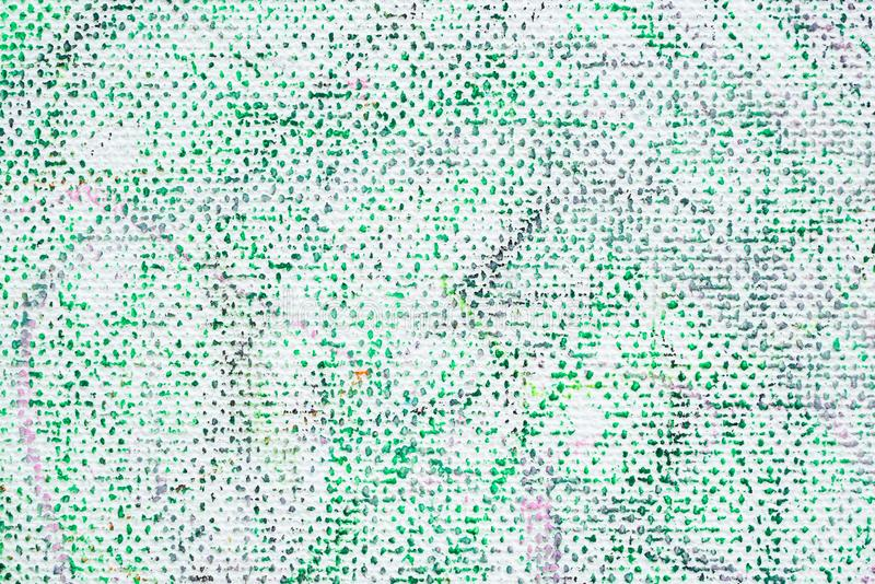 Couleur abstraite de peinture sur le fond de toile photographie stock