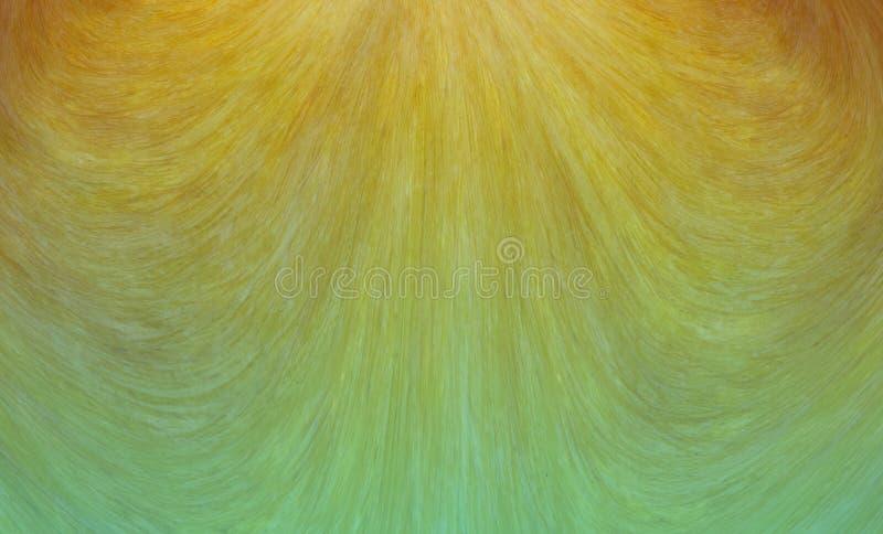 Couleur beige d'or d'aquarelle de vague de fond à l'abstraction basse azurée de papier peint illustration stock