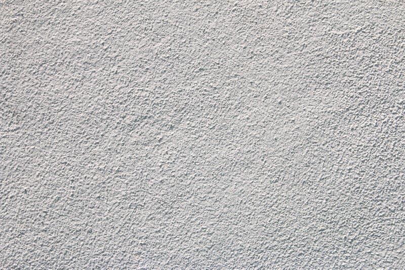 Couleur blanche vide de mur en béton pour le fond de texture photographie stock