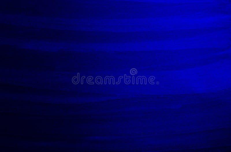 couleur bleue de texture avec différentes lignes abstraites illustration stock