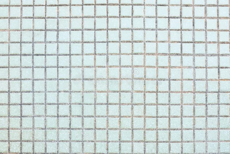 Couleur bleue de tuile minuscule de rue Texture ext?rieure image libre de droits