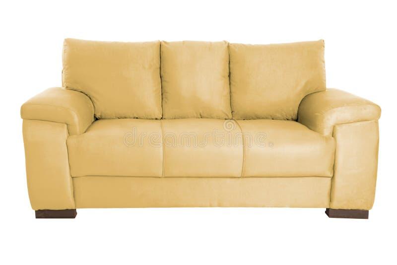 Couleur confortable de trois sièges image libre de droits