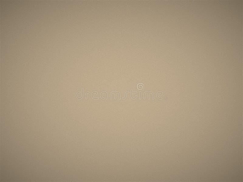 Couleur crème ou texture approximative de mur de carte de couleur de papier peint de luxe foncé brun clair de fond image stock