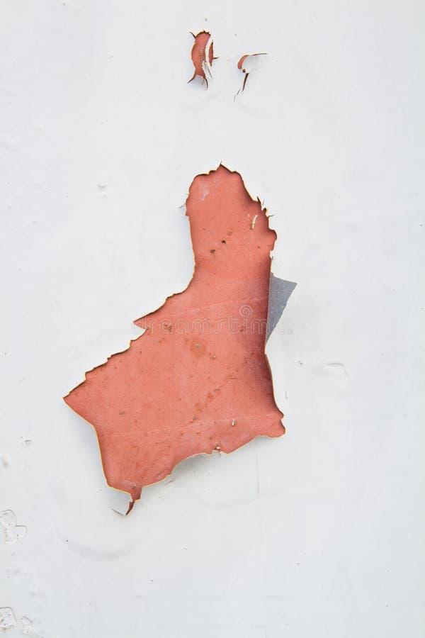 Couleur criquée sur le vieux mur photo stock