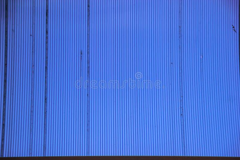 Couleur de bleu de polycarbonate image stock