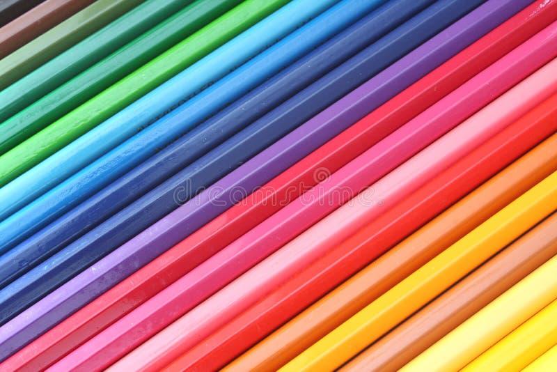 Couleur de crayon photographie stock libre de droits