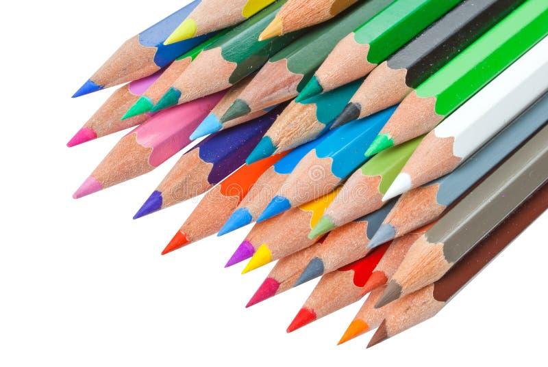 Couleur de crayon photo libre de droits