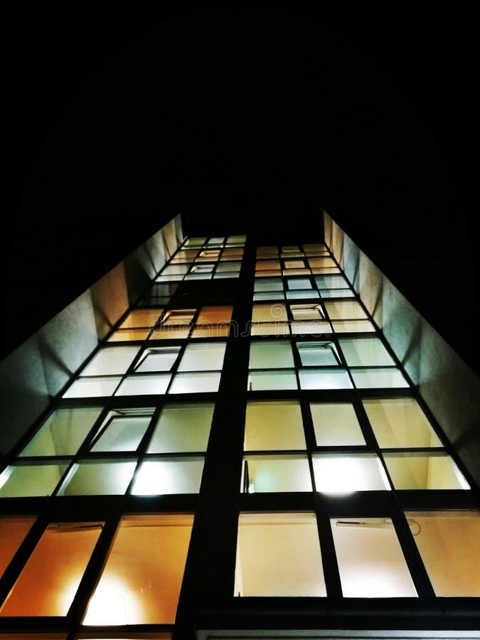 Couleur de fenêtre photographie stock