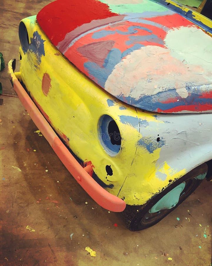 Couleur de Fiat 500 photo stock