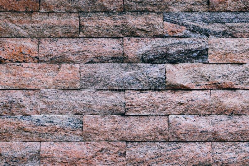 Couleur de normale de milieux de mur de briques image libre de droits