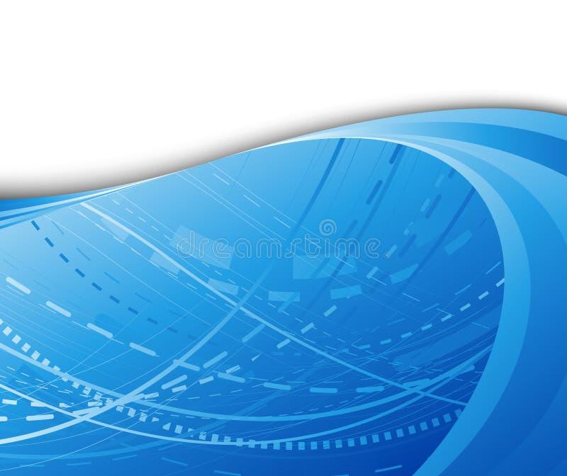 Couleur de pointe de bleu de fond illustration de vecteur