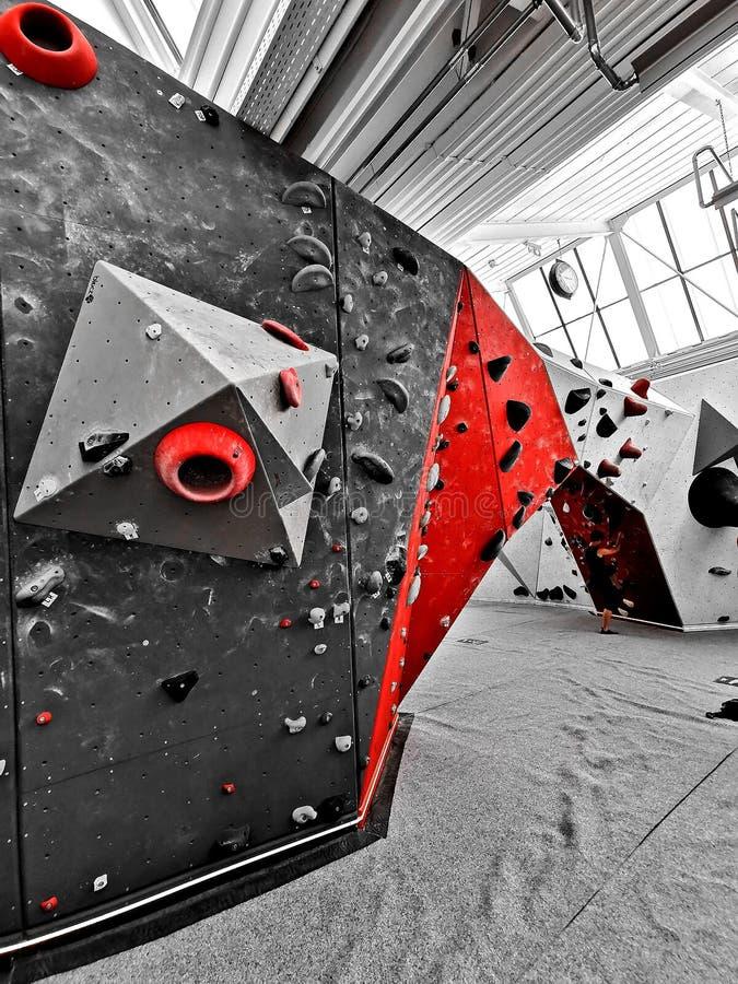 Couleur dominante sur un mur de Boulder image libre de droits