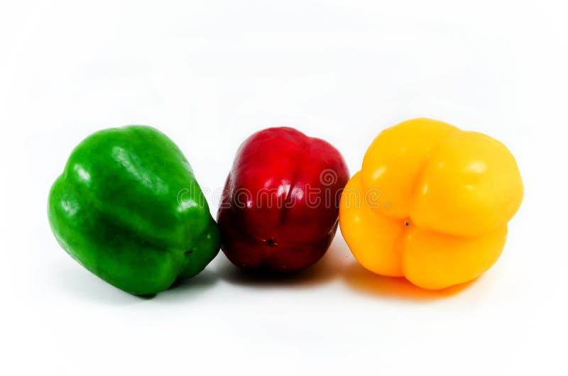 Couleur du paprika trois photo libre de droits
