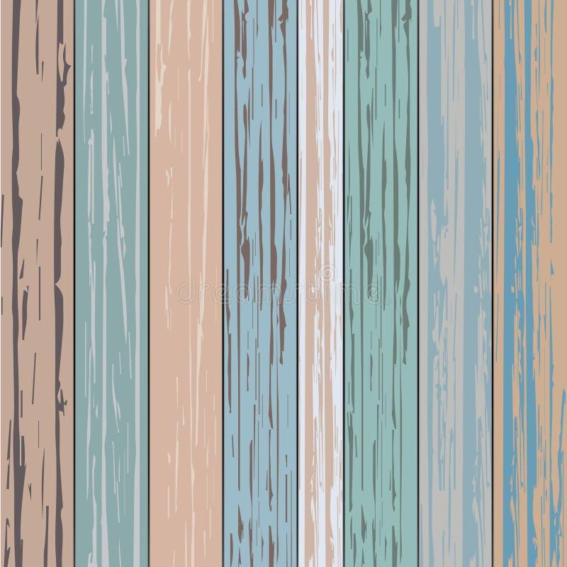 Couleur en bois de planche de vintage simple images libres de droits